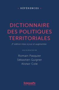 Dictionnaire des politiques territoriales – #2